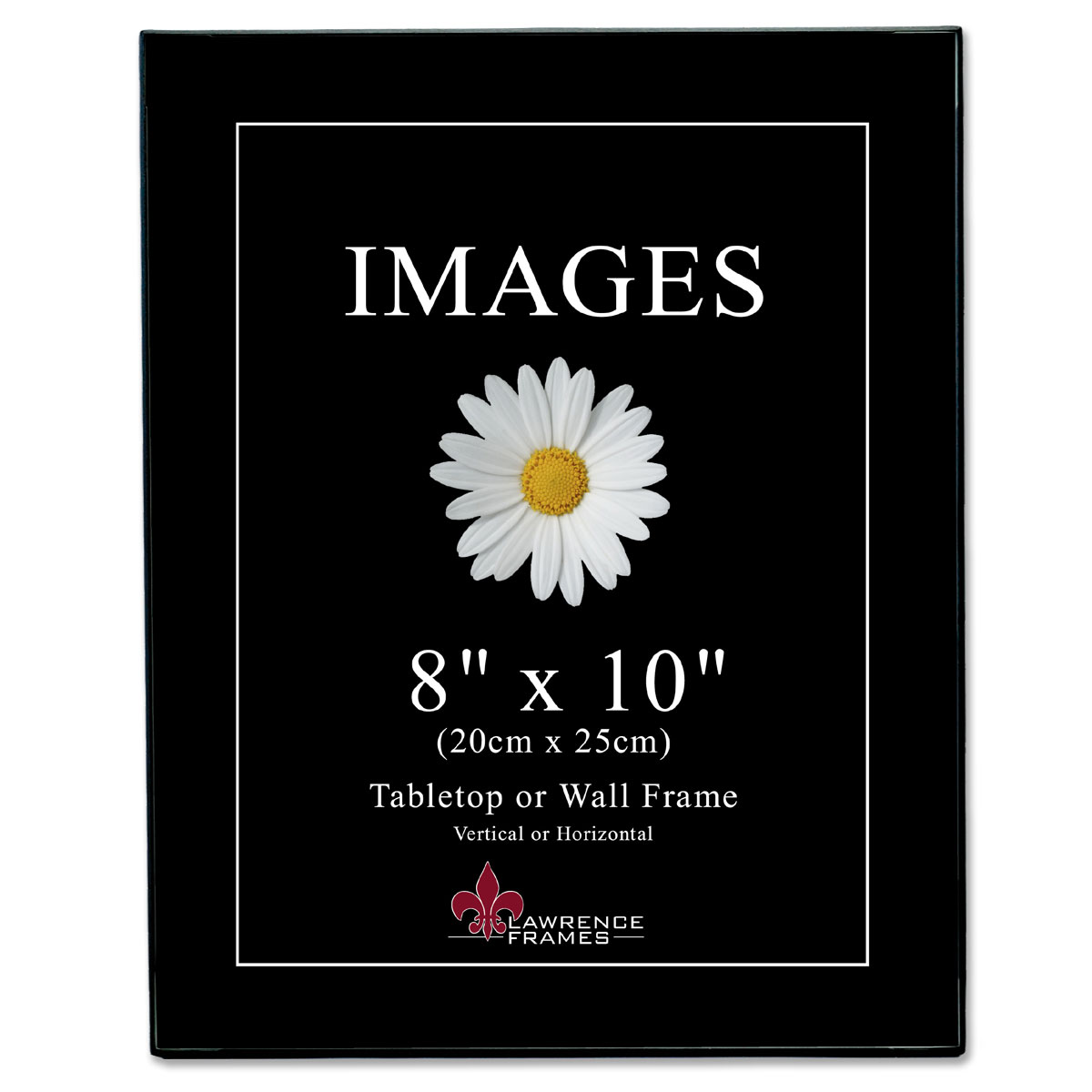 Images Black 8x10 - MUST ORDER IN INCREMENTS OF 6 | PhotoFrames.net