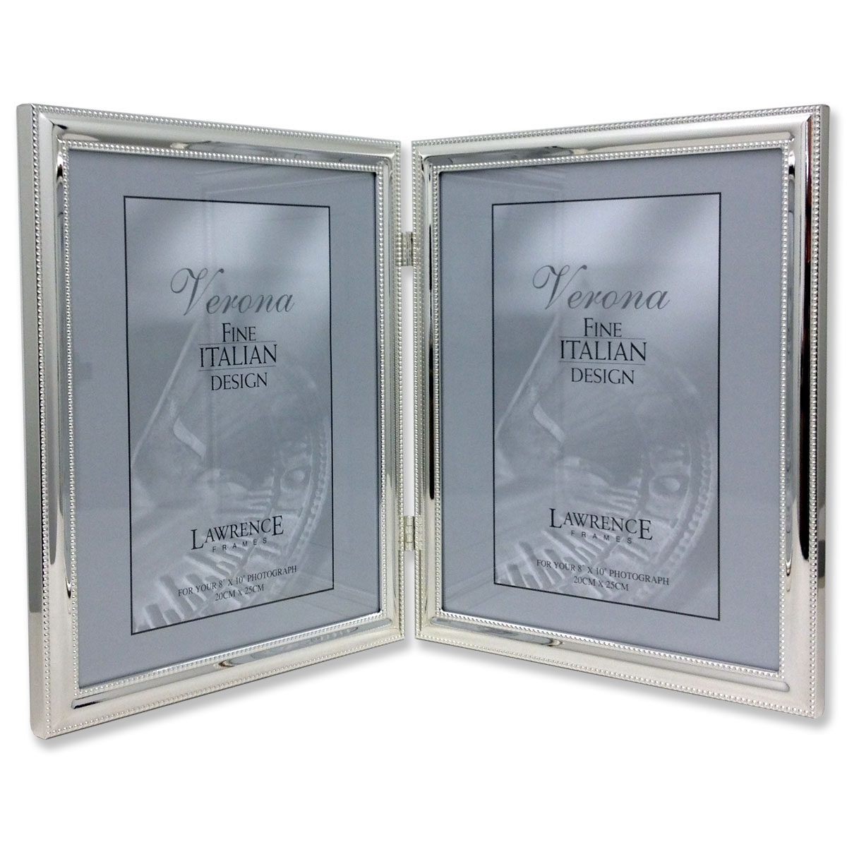 510780d silver plated double bead 8x10 hinged double picture frame 510780d silver plated double bead 8x10 hinged double picture frame jeuxipadfo Gallery
