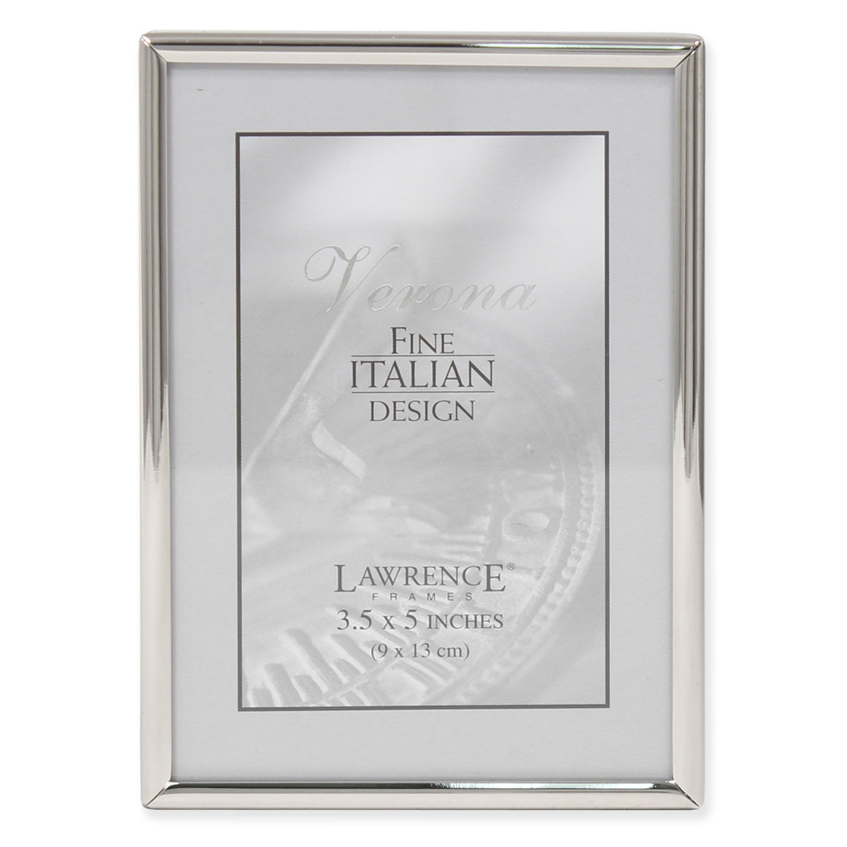 3.5x5 Simply Silver Metal Picture Frame | PhotoFrames.net