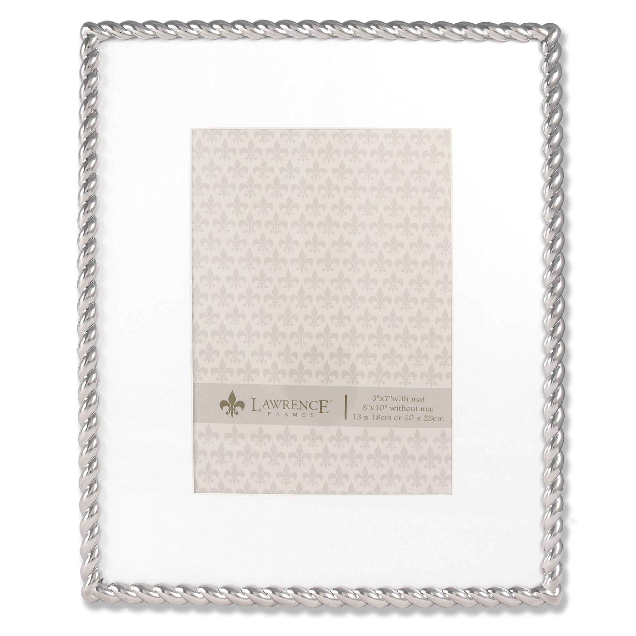 710080 silver metal rope 8x10 matted for 5x7 picture frame 710080 silver metal rope 8x10 matted for 5x7 picture frame jeuxipadfo Image collections