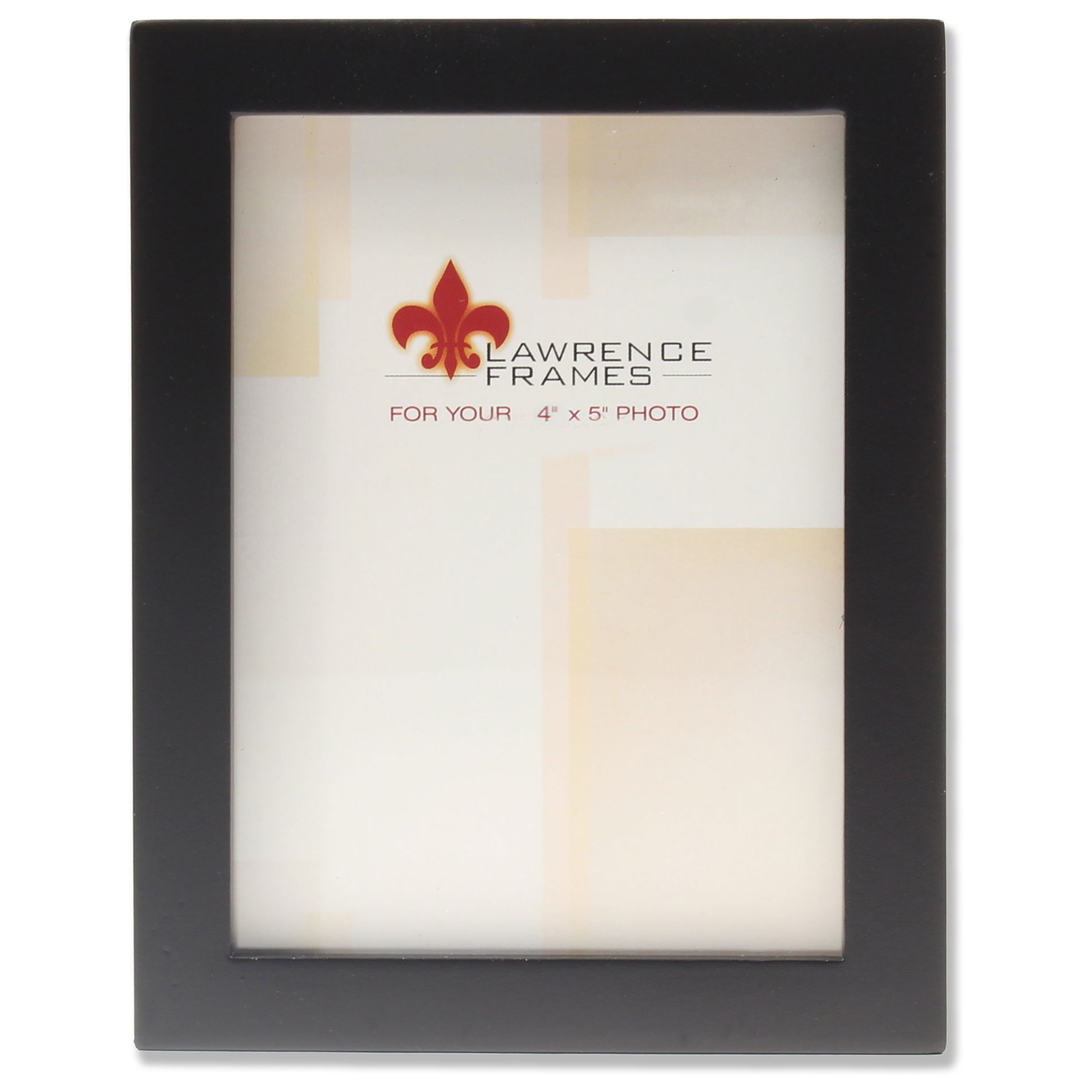 4x5 Black Wood Picture Frame - Gallery Collection | PhotoFrames.net
