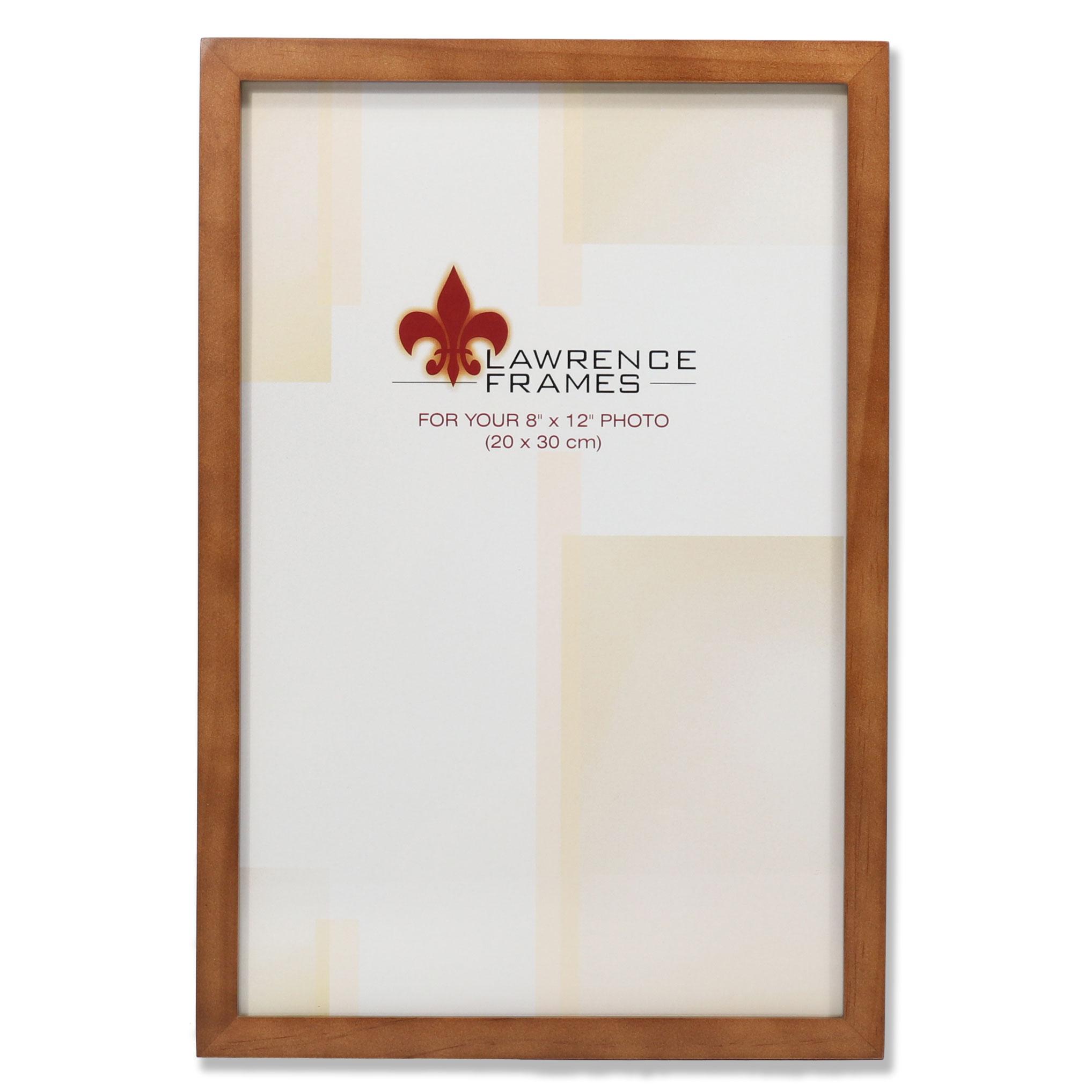 766082 Nutmeg Wood 8x12 Picture Frame Photoframes Net