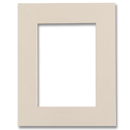 Bevel Cut Ivory Mat For 4x6 5x7 Outer Dimension Photoframesnet