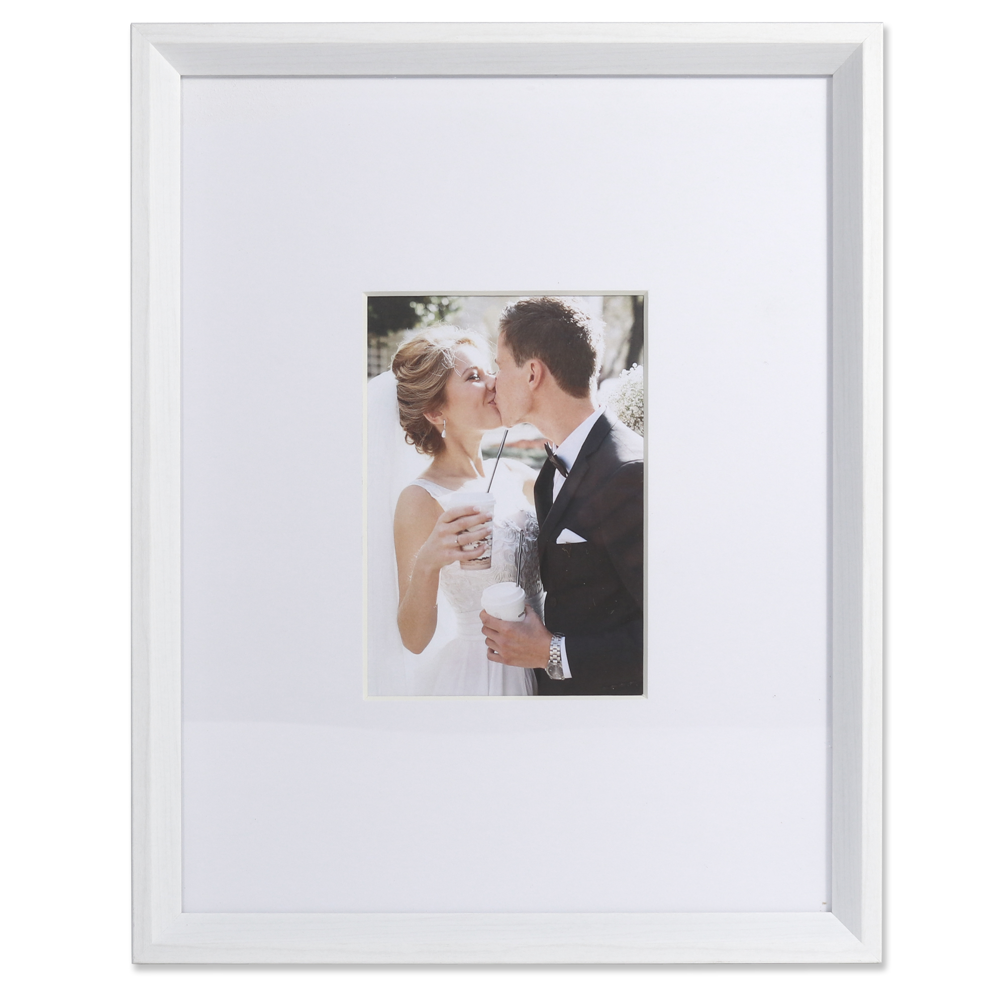 5x7 Wide Border Matted Frame Gallery White 11x14 Photoframesnet