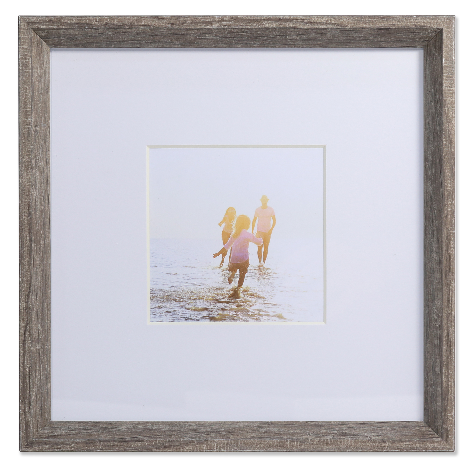 Canon Brockton 10x10 Black Frame With 5x7 Mat And Glass Glazing