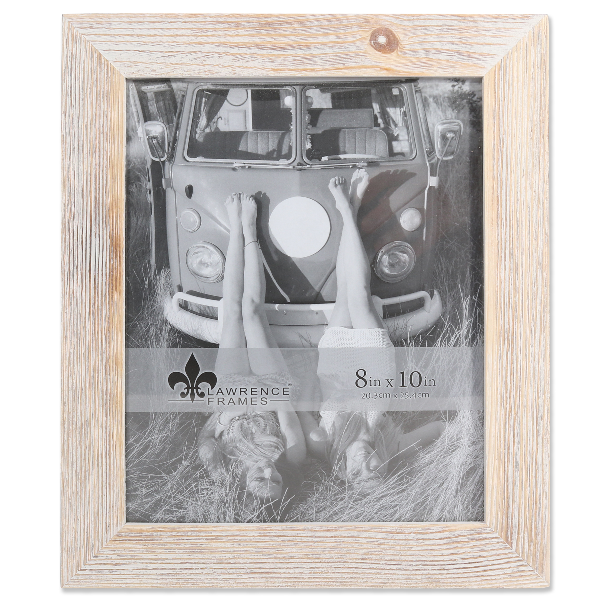 8x10 Sarasota Whitewash and Weathered Natural Wood Picture Frame ...