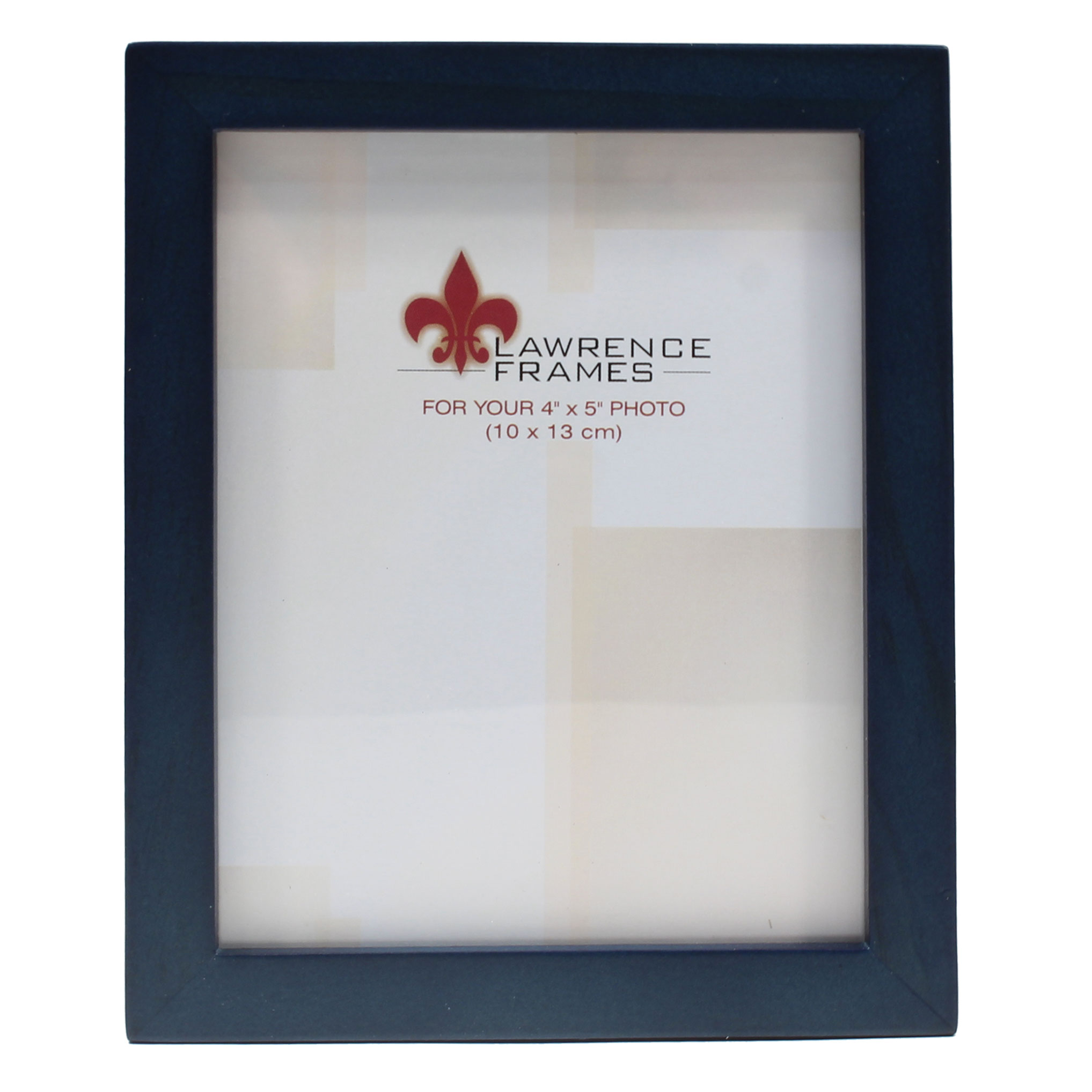 4x5 Blue Wood Picture Frame - Gallery Collection | PhotoFrames.net
